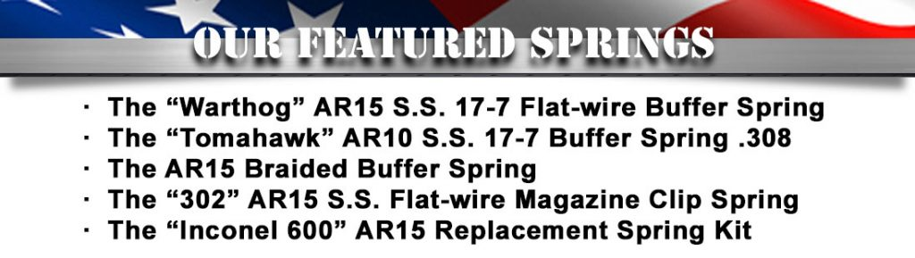 Neverwear Springs | Precision Firearm Springs and Accessories